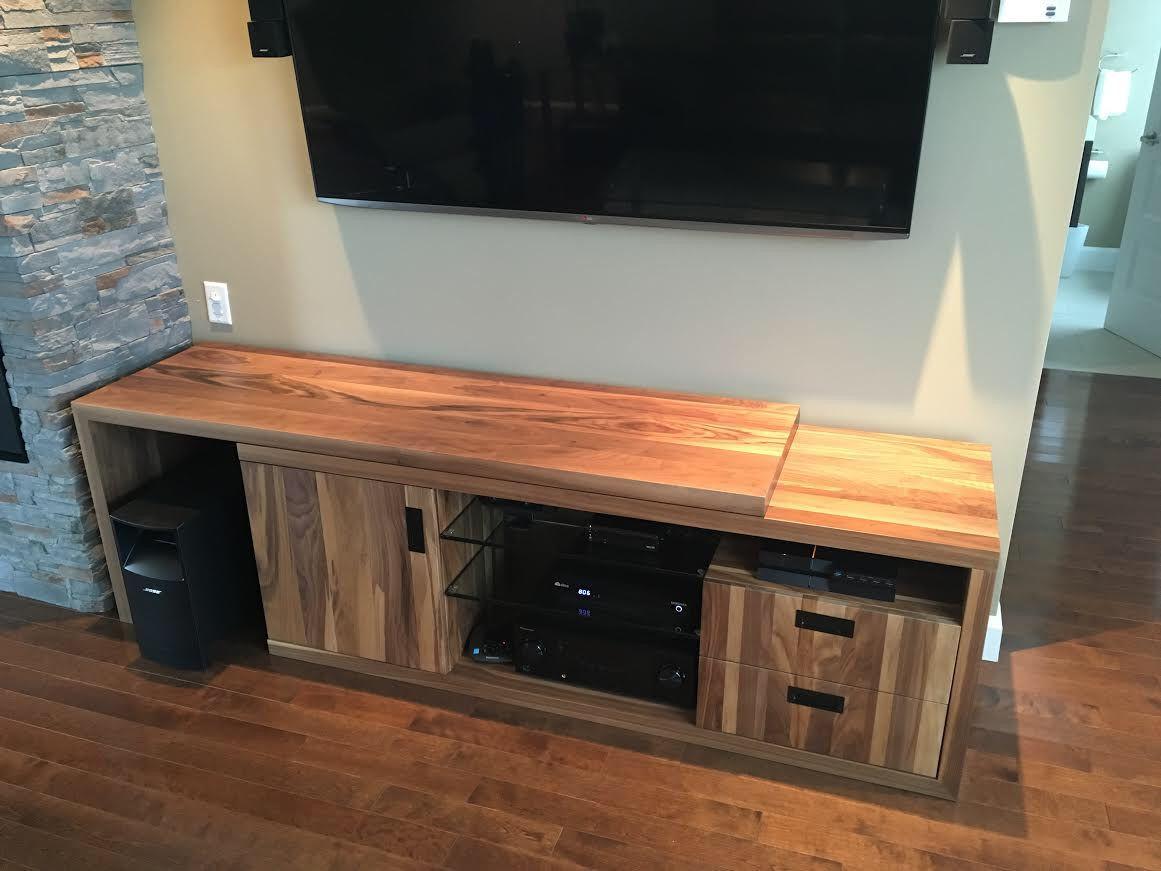 Meuble Television Sur Mesure Surmesure Lusine Meubletele Home Decor Storage Bench Home