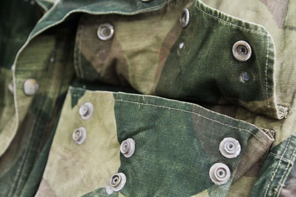 Camo. #wearandtear #vintage #military