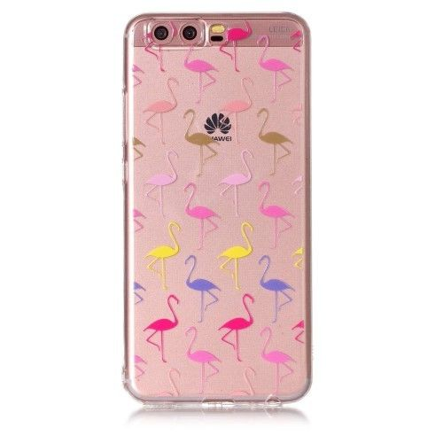 coque huawei p10 flamant