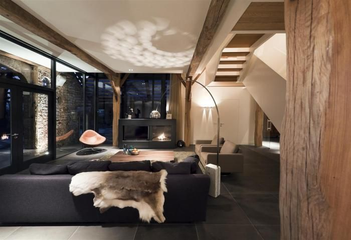 Architect tekenaarproject barchem verbouwing boerderij for Boerderij interieur ideeen