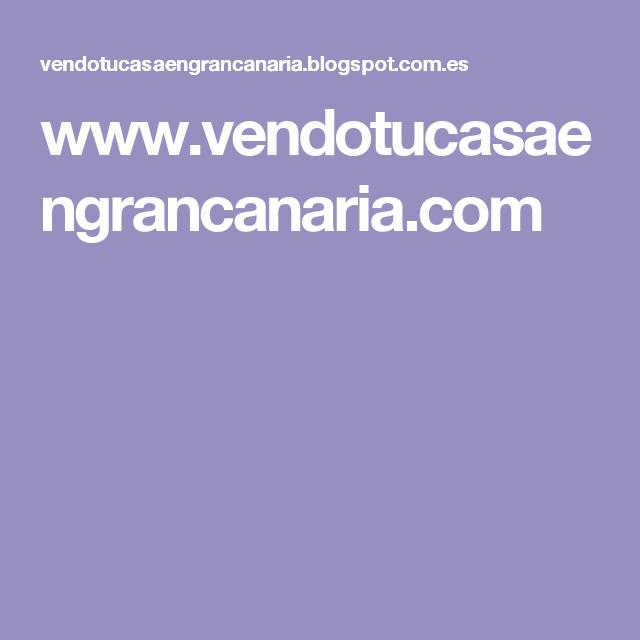 www.vendotucasaengrancanaria.com