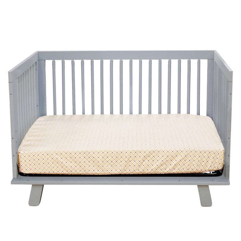Babyletto Hudson Convertible Crib Grey Layla Grayce (mit