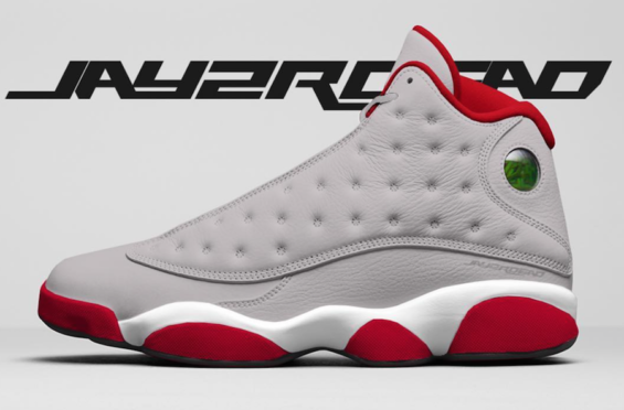 check out 8a5e7 3be8c Air Jordan 13 Atmosphere Grey Arriving In 2019