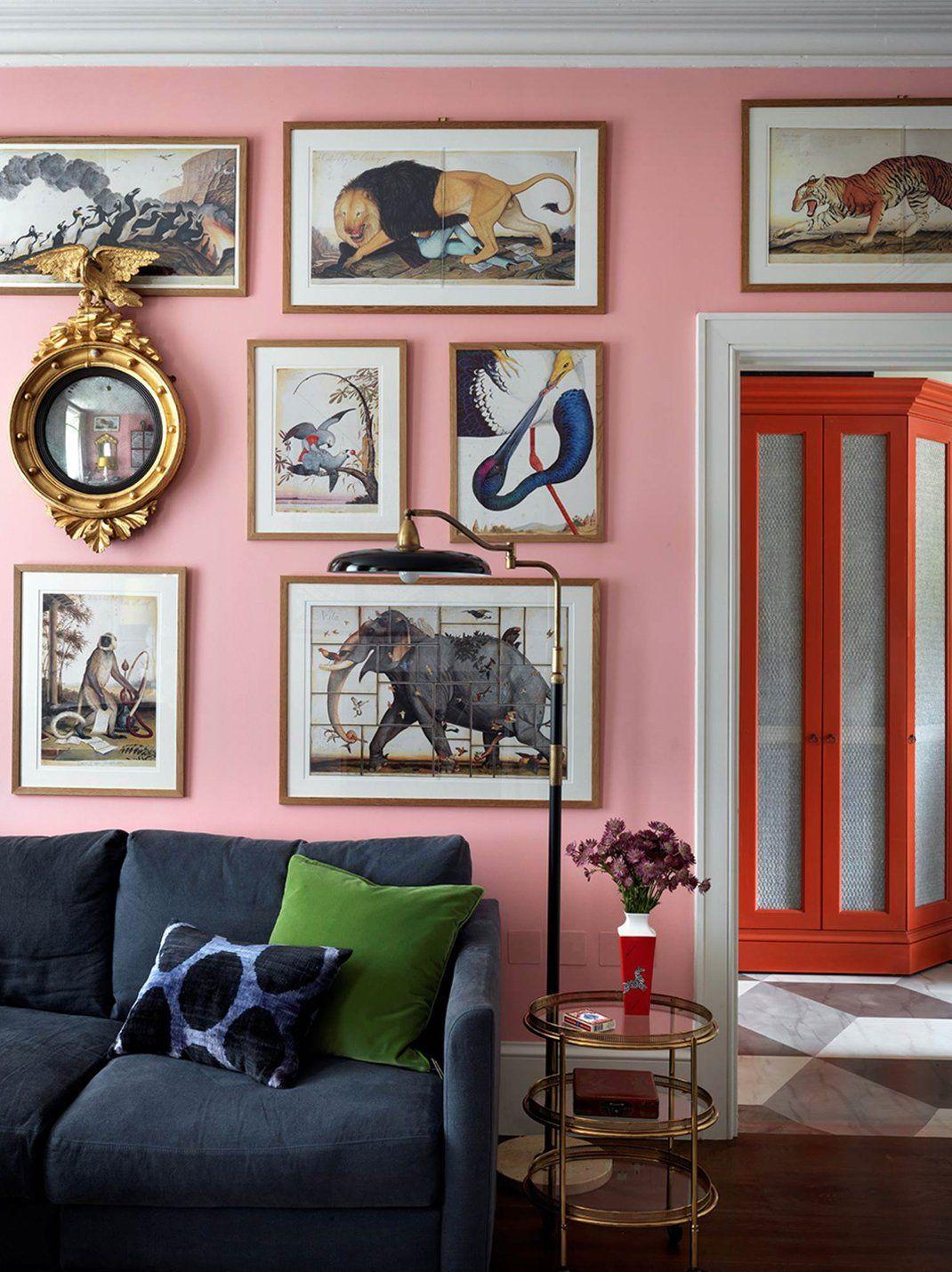 Home interior wall design inspirational interiors by beata heuman  home sweet home interiors