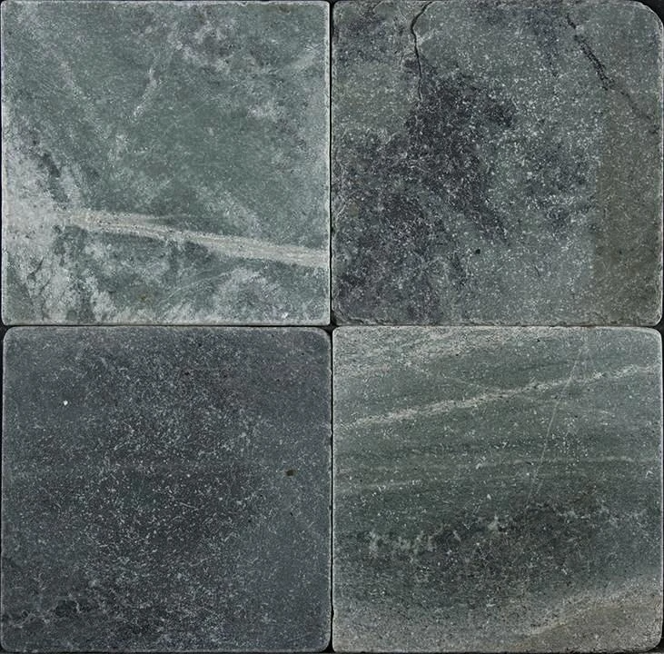 Jade Green Marble Tile 12x12 Tumbled In 2020 Green Marble Marble Tile Tumbled Marble Tile