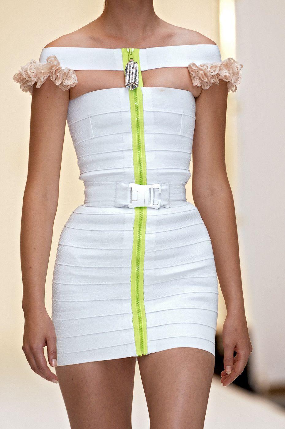 Christopher Kane RTW Spring'07 - #2007 #catwalk #christopher #couture #fashion #high #kane #rtw #runway #style #white