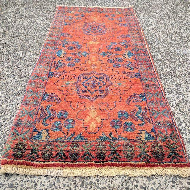 Veggie Dye Afghan Chobi Rug