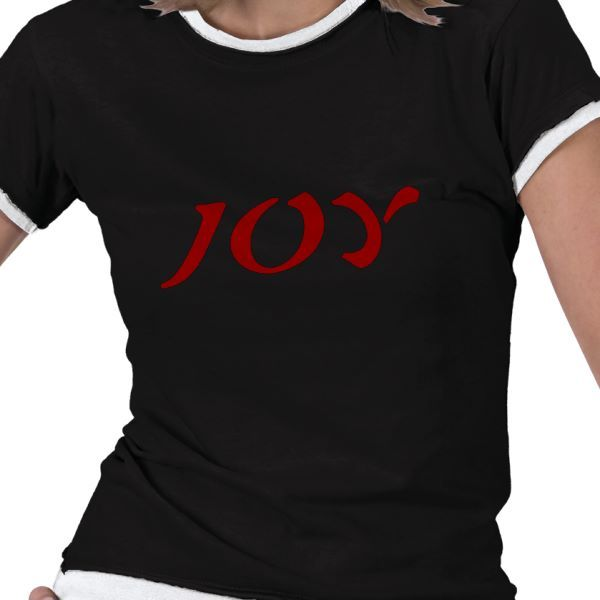 Joy, Asian Lettering...by Tammy Winand for Tam's Tees