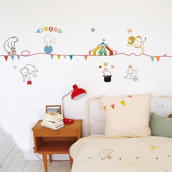 circus wall sticker home pinterest wall borders wall sticker
