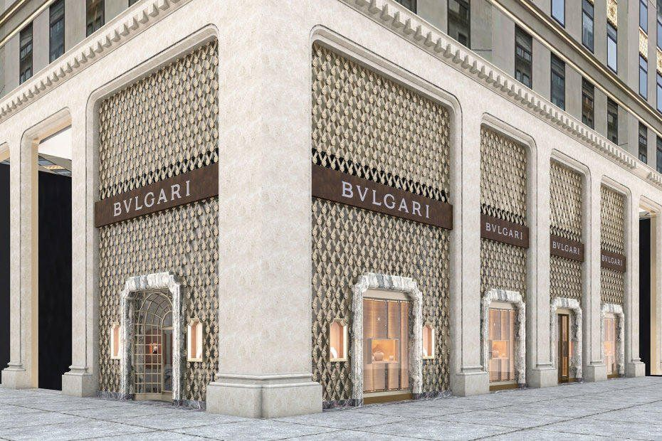Bvlgari reopened its New York City flagship store on the