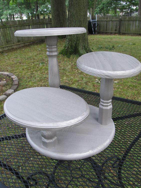 DIY Cake Stands - Uncommon Designs...   Diy cupcake stand ...