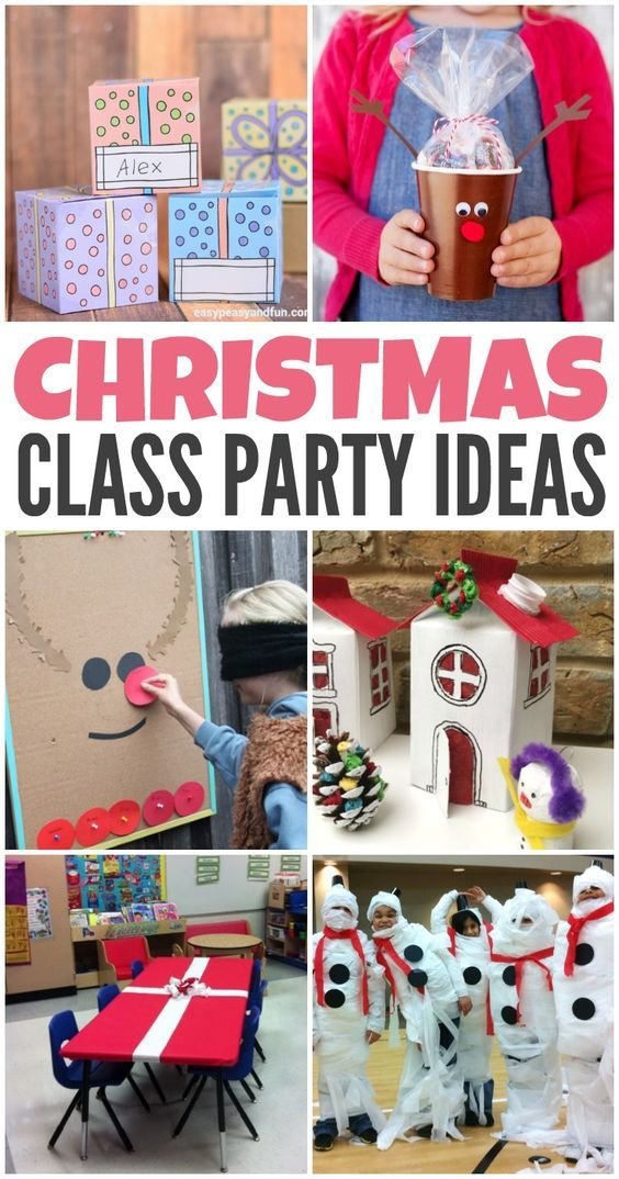 Christmas Class Party Ideas | school christmas party | Pinterest ...
