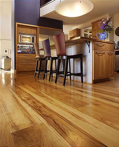 Rustic Hardwood Flooring Tips And Suggestion: Using Hardwood Flooring In Kitchens