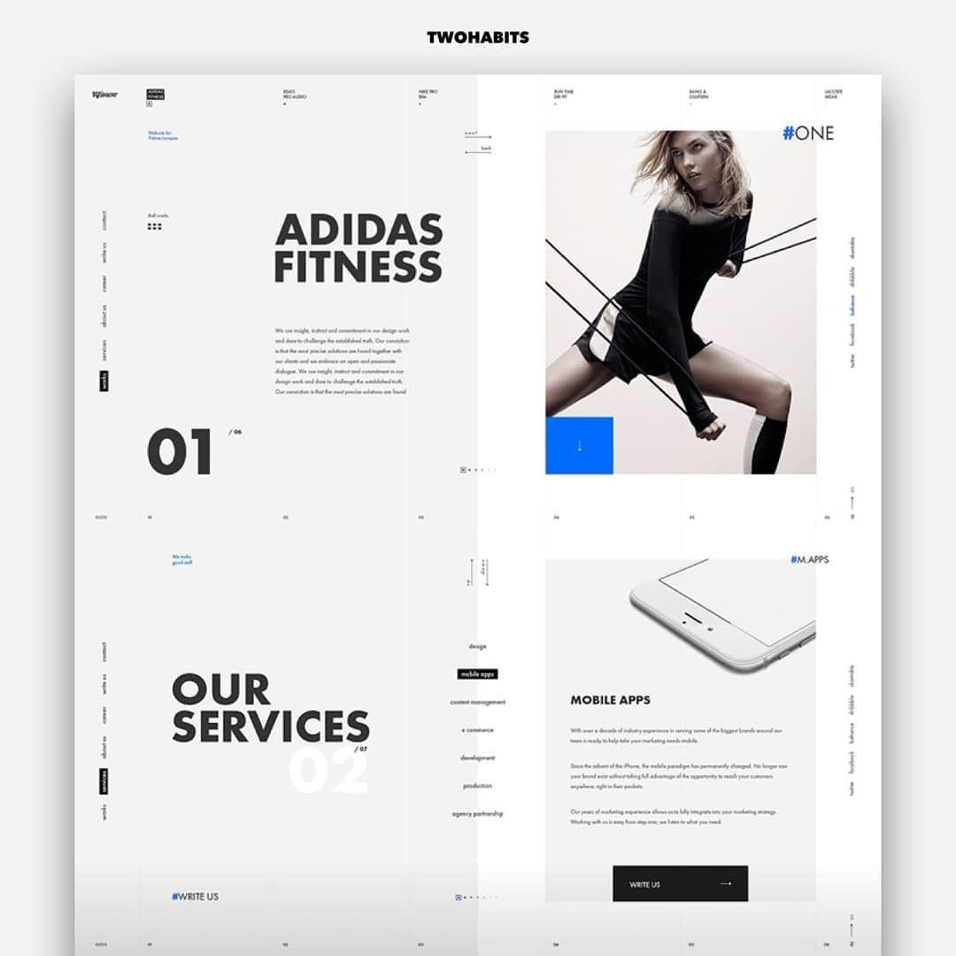 Klimov By Sdklimov Ikovlab And Sundaze Daily Inspiration Follow Us And Get Inspired Dailydesign Blog Layout Design Web Layout Design Custom Web Design