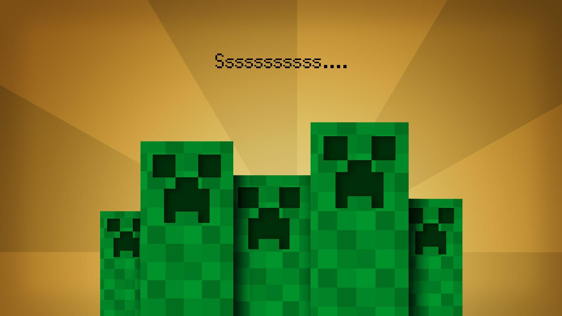 Creeper Minecraft Cool Backgrounds HD Wallpaper