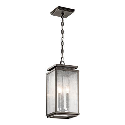 Kichler lighting 49387oz manningham outdoor pendant