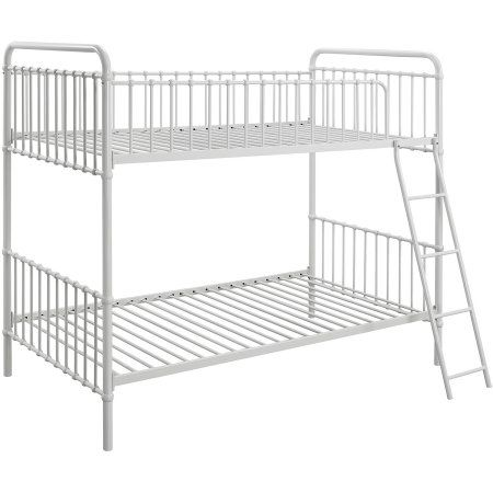 9 By Novogratz Berkshire Metal Twin Twin Bunk Bed Multiple Colors