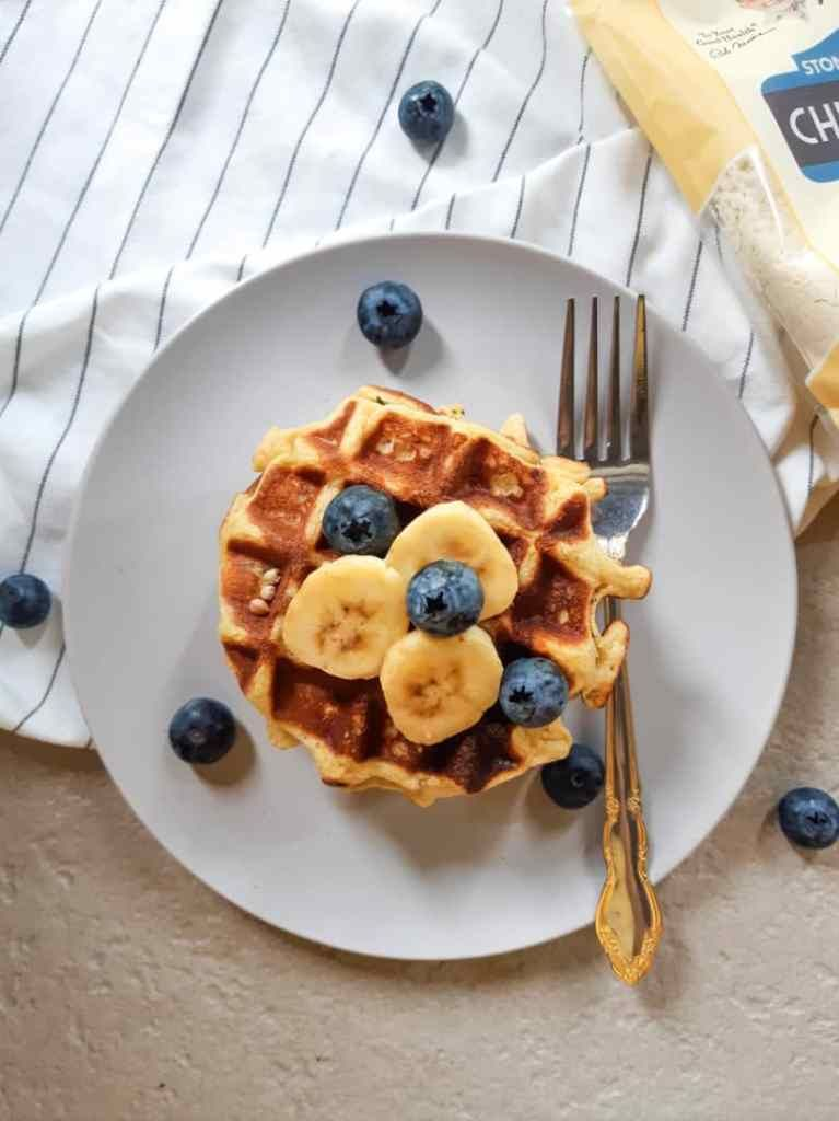 High protein vegan waffles healthy glutenfree my