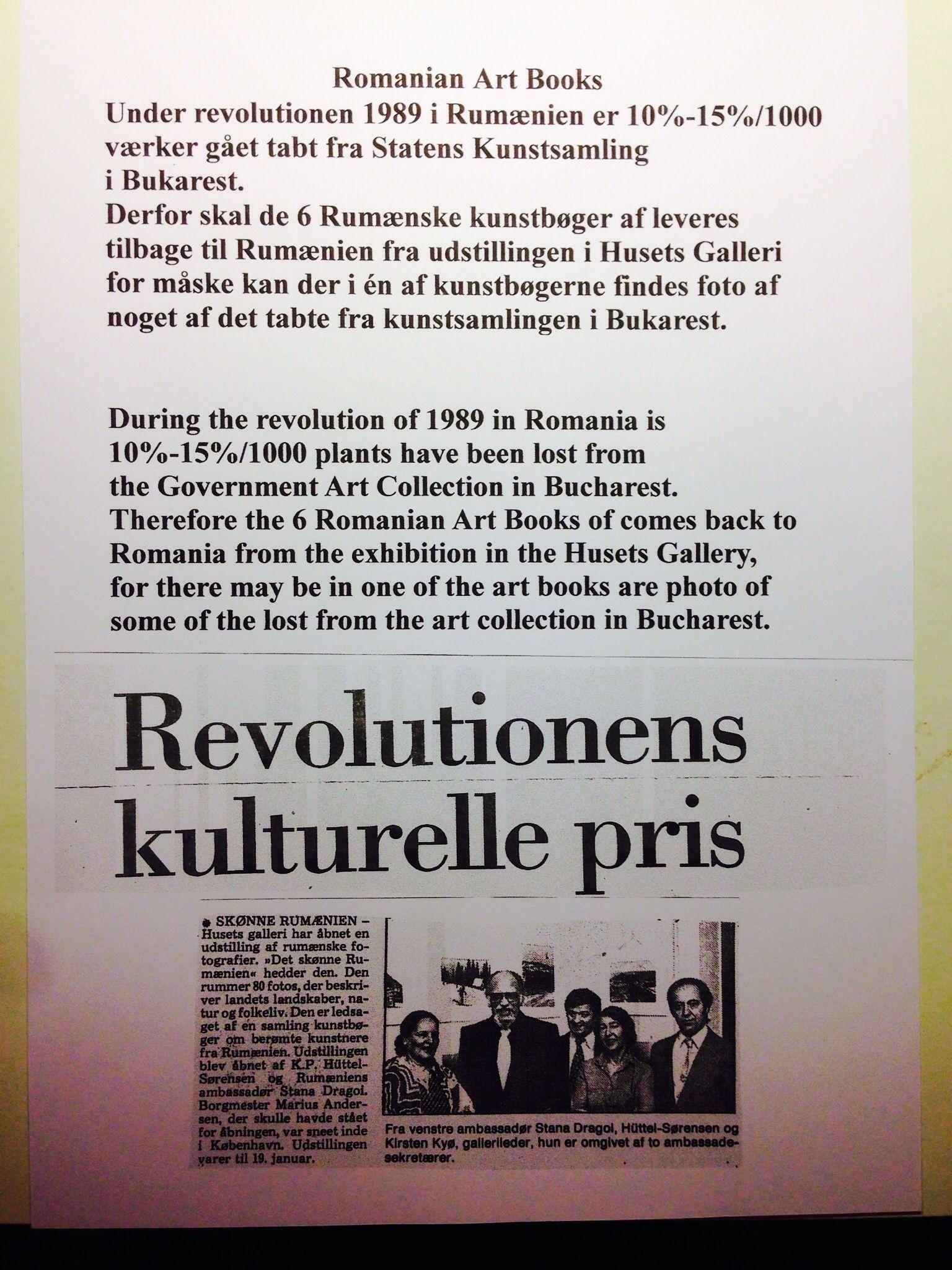 Revolutionens kulturelle pris