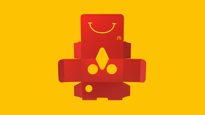 Wired Happy Meal Box Mcdonalds Happy Meal Toys