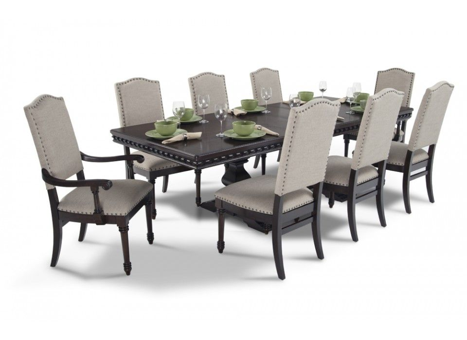 bristol 9 piece dining set | dining room sets, dining sets and bristol