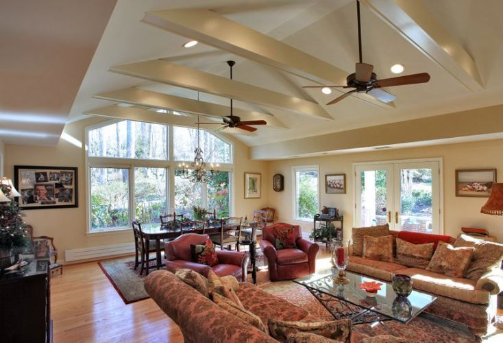 Insite Builders Llc Home Family Room Addition Large Family Rooms Room Additions