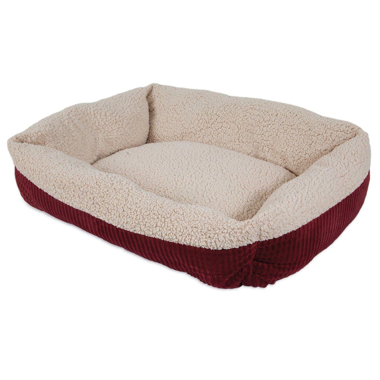 Petmate 80137 2 Tone Sheepskin Rectangular Pet Bed 24 In 2021 Pet Mat Pet Bed Warm Dog Beds