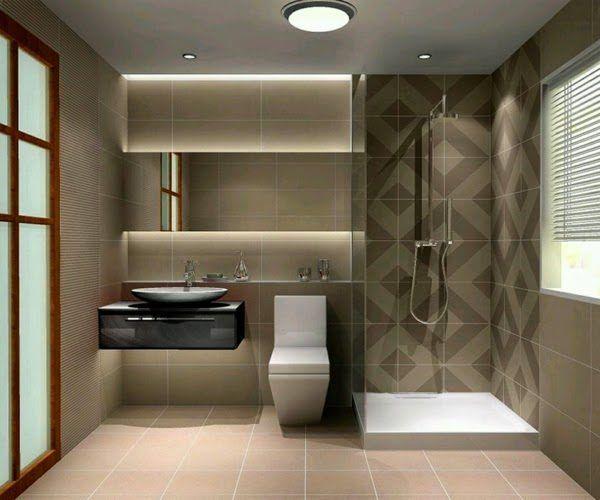 Ideas de ba os peque os con ducha 2016 estilo moderno en for Banos modernos y pequenos 2016