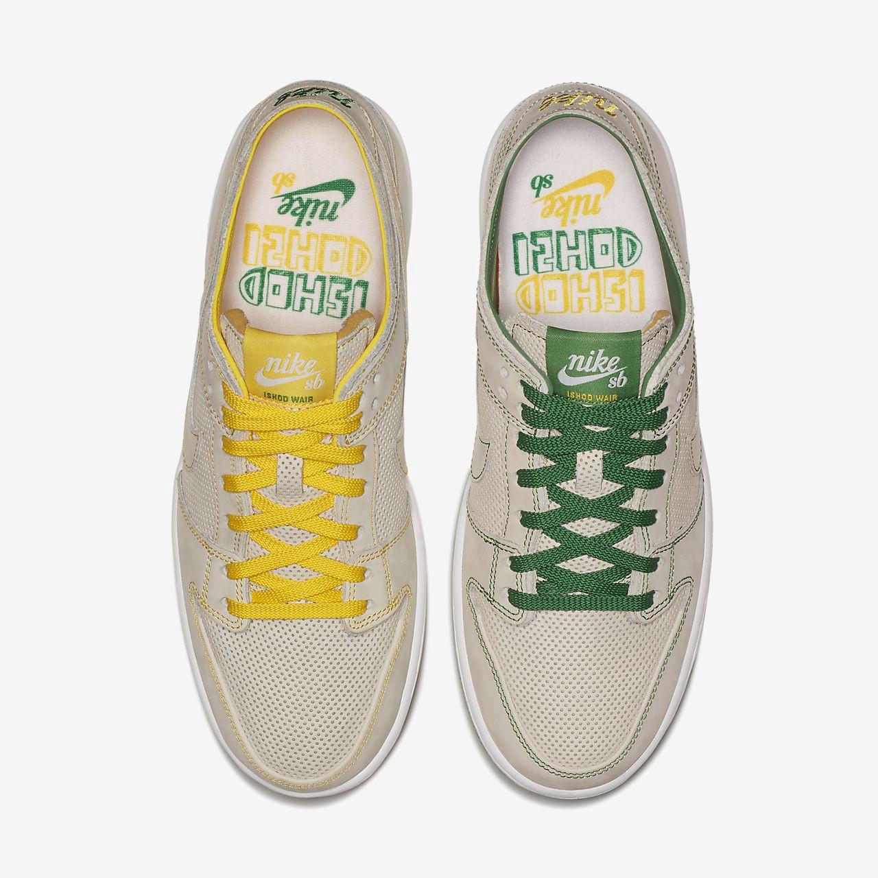 promo code 3b843 ef98a Nike Sb Zoom Dunk Low Pro Deconstructed Qs X Ishod Wair Men s Skateboarding  Shoe - 10.5