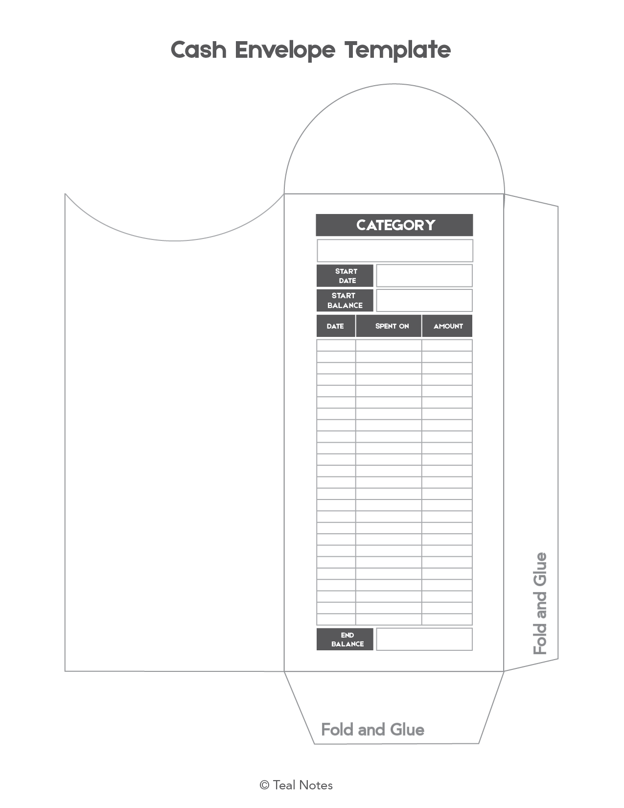 Free Cash Envelope Template This Is How You Use A Cash