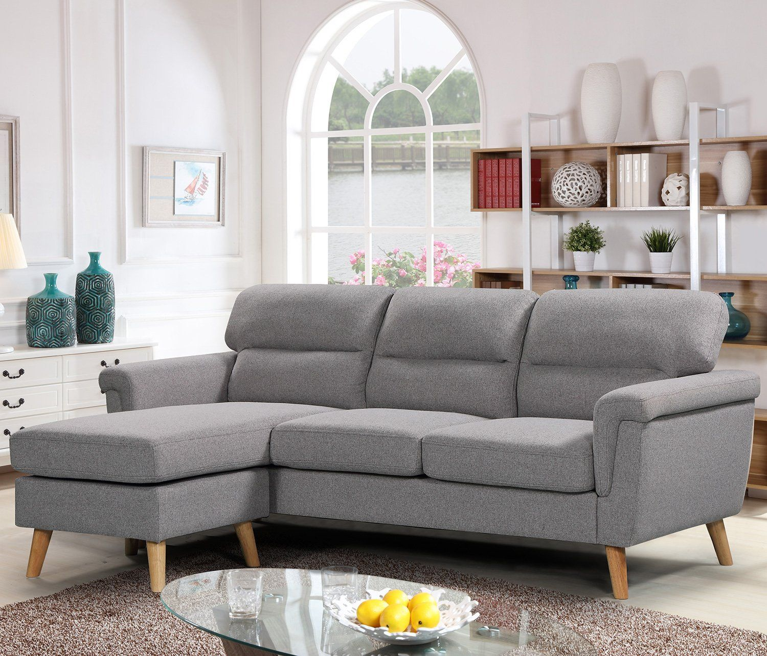 16 Super Cheap Sectional Sofa Sets You Can Buy Online L Shaped Couch Fabric Sectional Sofas Furniture Sofa Set