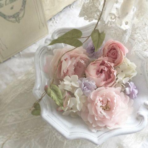 染め花 レンゲの花束 2020 花 壁紙 花束 布花