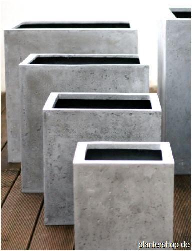 pflanzk bel blumenk bel pflanzgef sse in beton oder. Black Bedroom Furniture Sets. Home Design Ideas