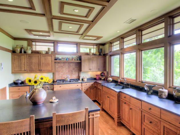 Frank Lloyd Wright Inspired Kitchen: Kiawah Island, S.C.