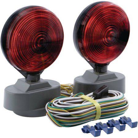 optronics tl21rk magnet mount towing light kit includes 25 wiring rh pinterest com