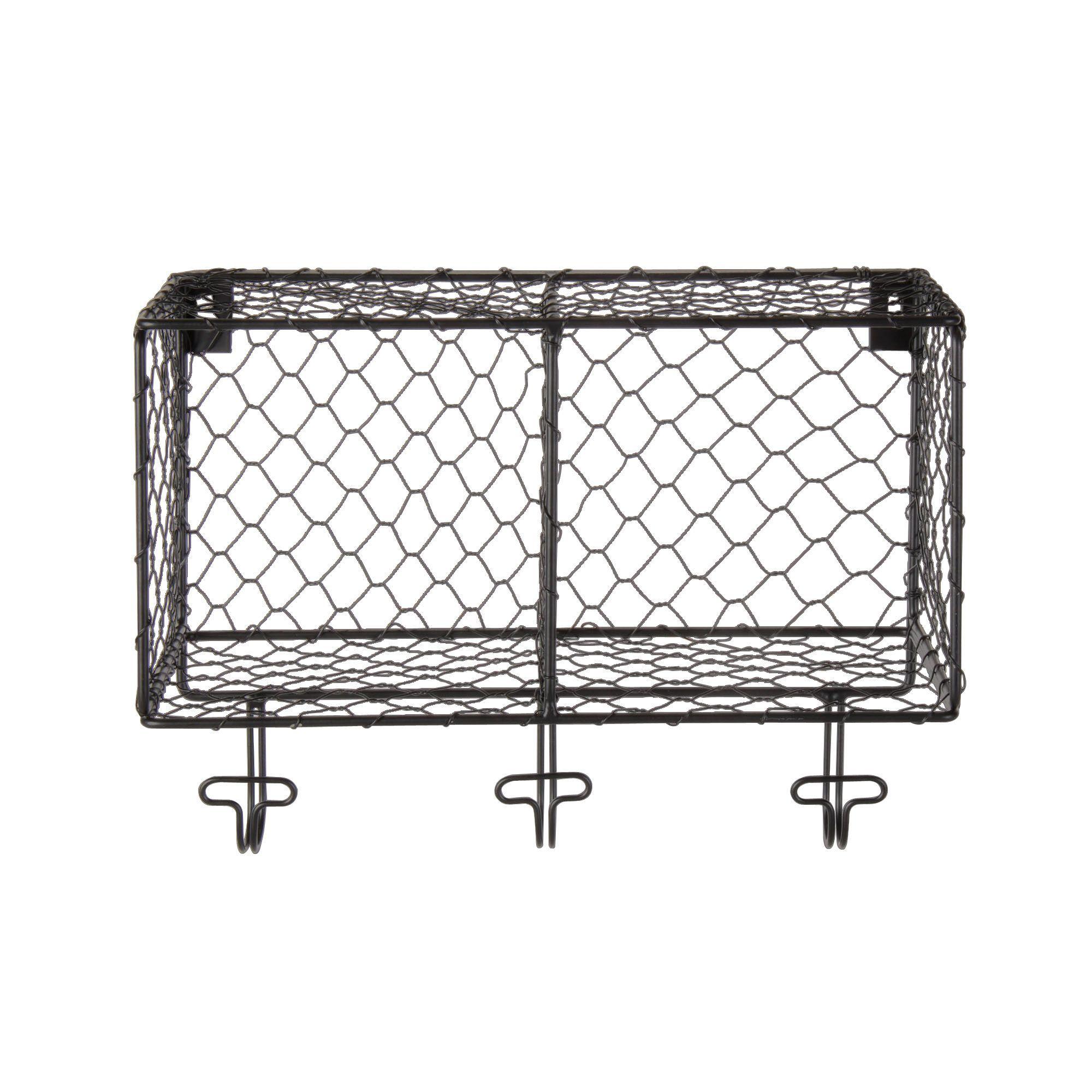 Étagère 2 cases en métal satiné Noir satin - Pool - Les étagères de ...