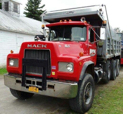 Tri Axle Show Trucks : Mack tri axle dump truck old macks and big trucks
