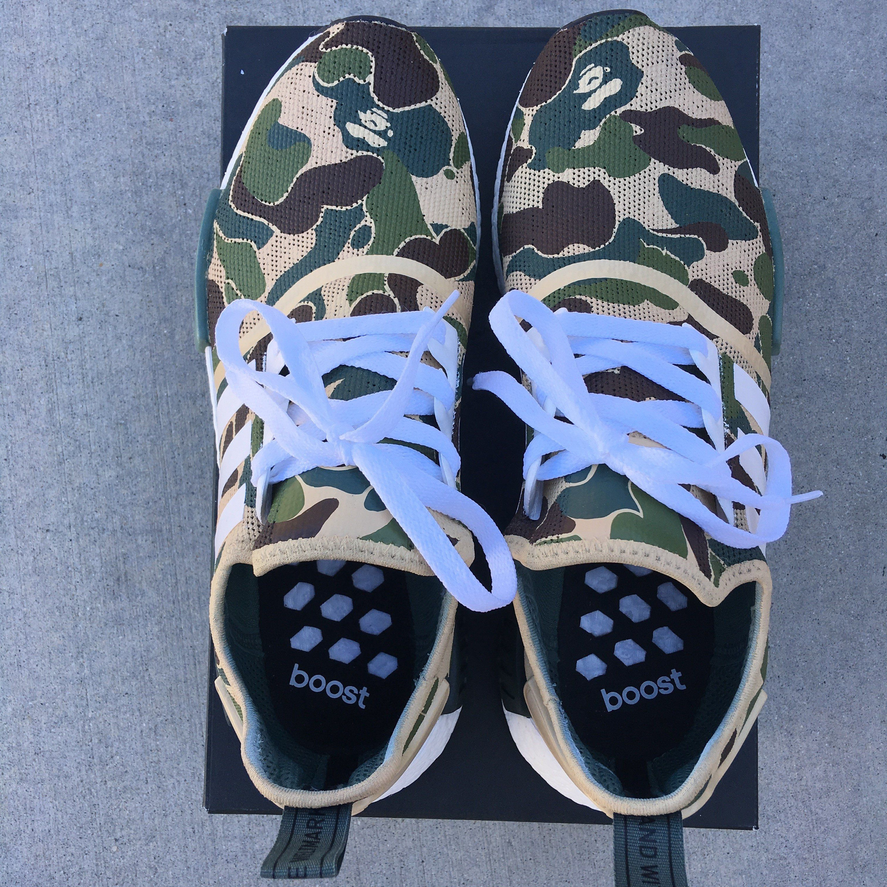BAPE Inspired Custom Painted Adidas NMD R1 | Products