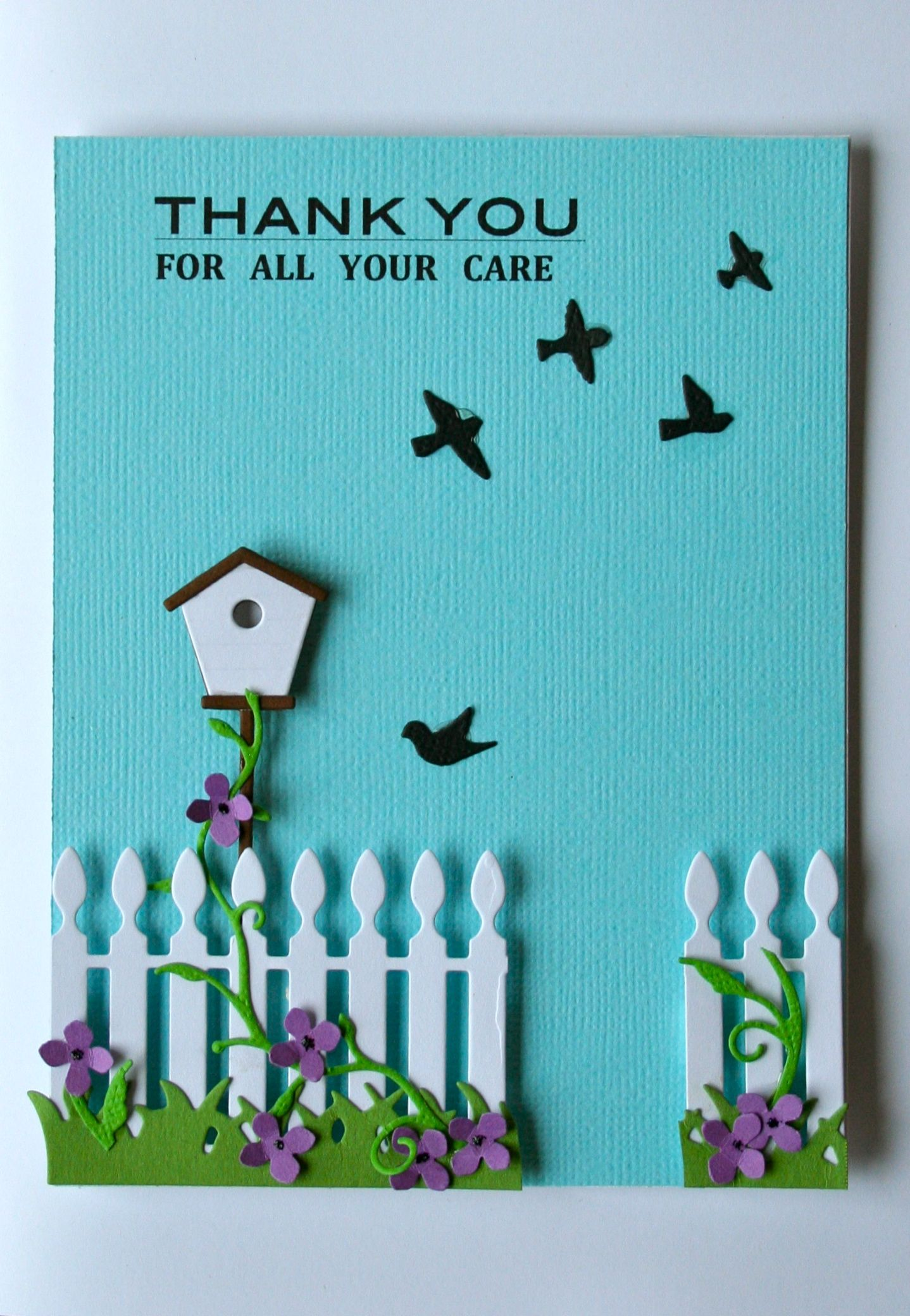 Thank you for all your care scrapbook cardstags pinterest thank you for all your care scrapbook kristyandbryce Gallery
