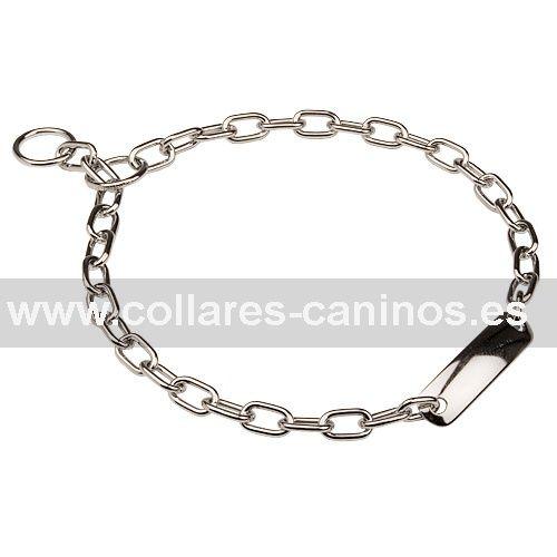 Tipos De Collares De Castigo Para Perros Collar De Ahorque Con Placa Para El Nombre Hs 51521 02