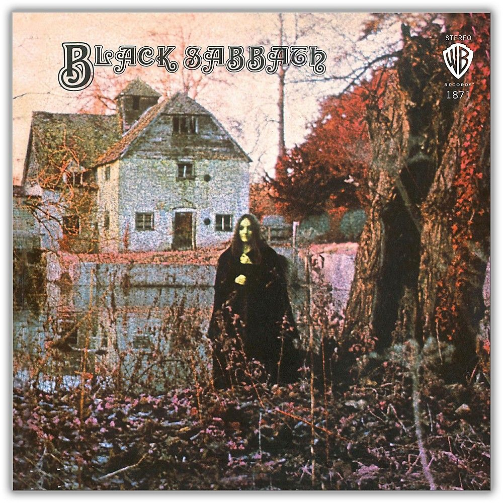 Wea Black Sabbath Black Sabbath 180 Gram Black Vinyl Lp Black Sabbath Album Covers Rock Album Covers Black Sabbath Albums
