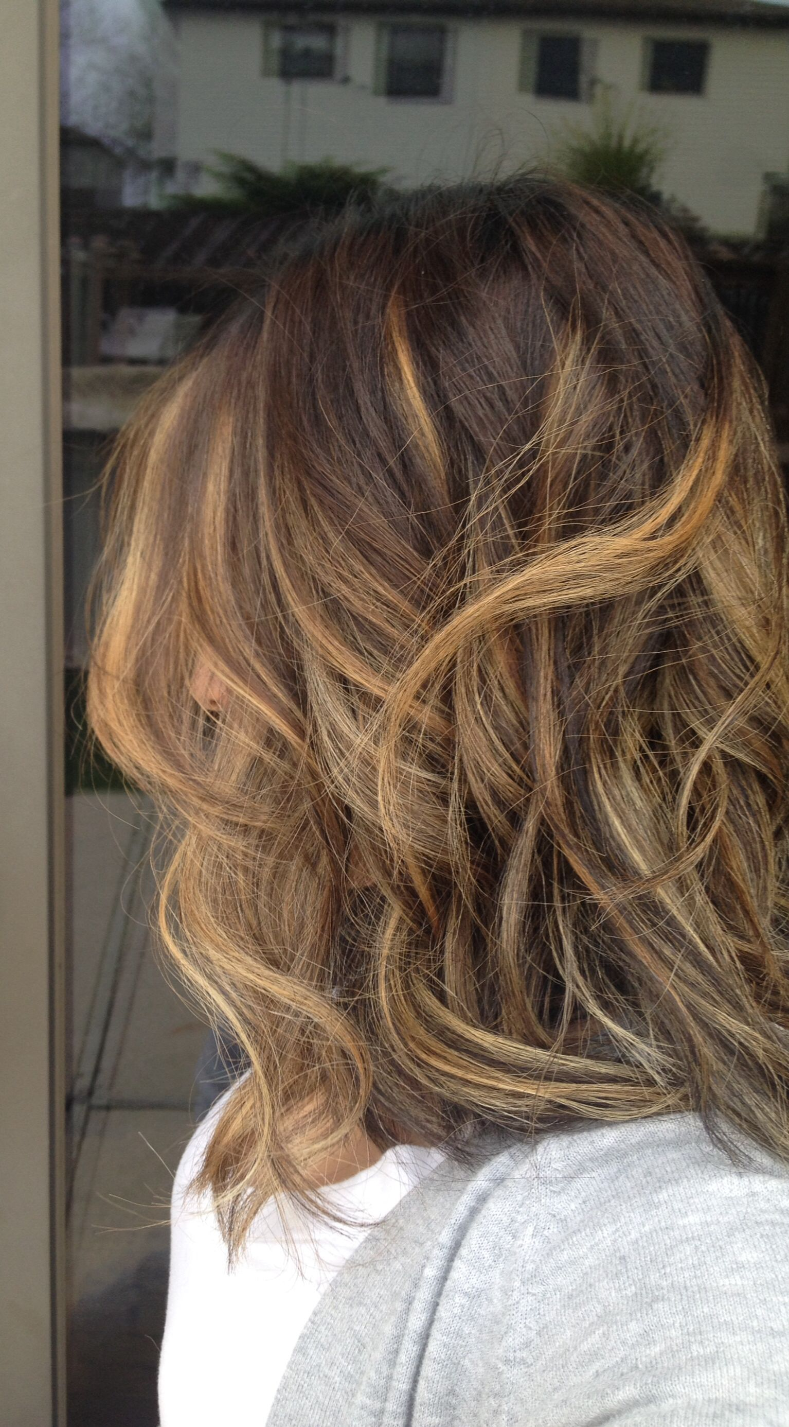 Ombr Sombre Highlights Hair Waves Instagram Plumhair Yumm