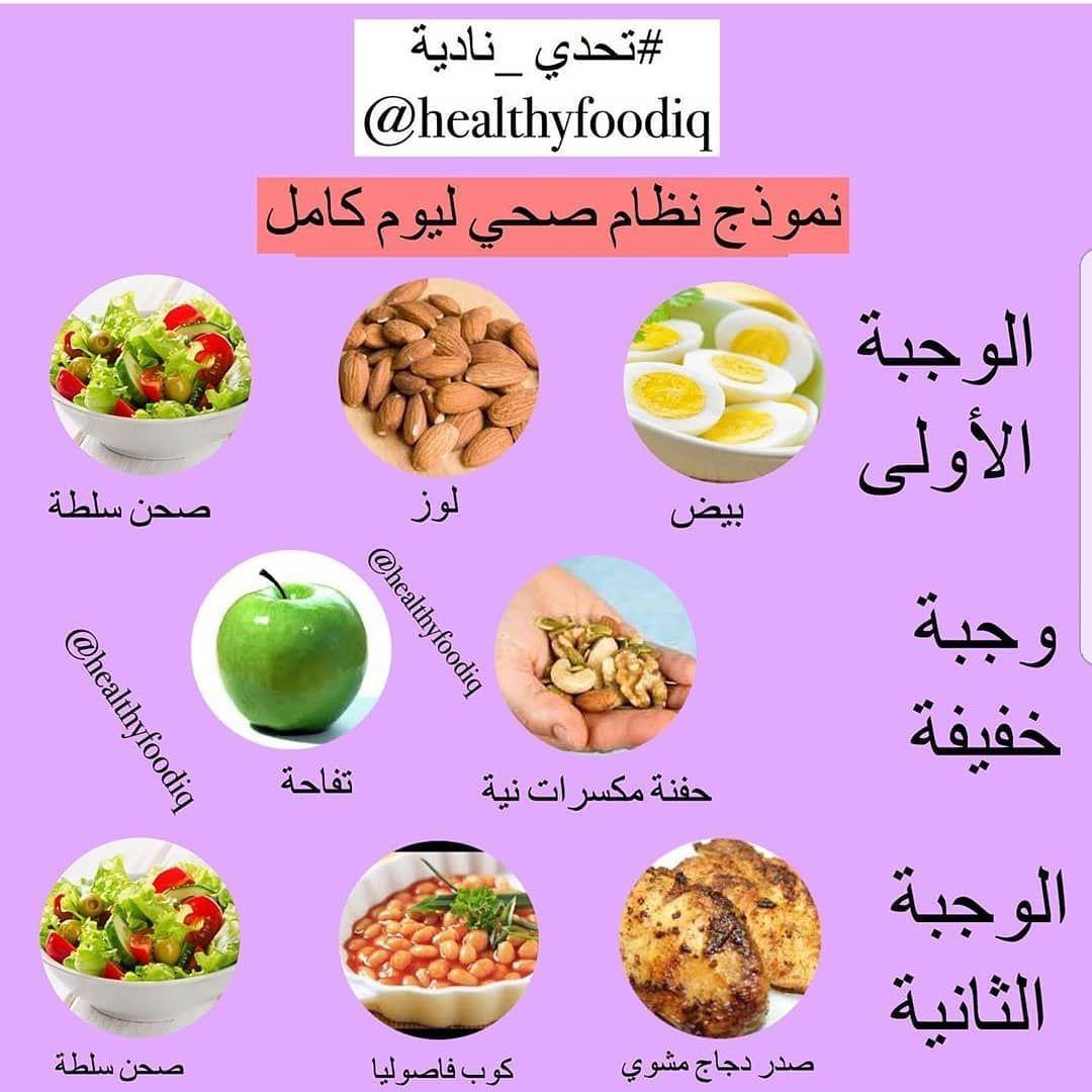 مساء الخير هذا مثال يوم كامل نظام غذائي صحي جميع الأغذية طبيعية غير مصنعة متكامل من ناحية البروتين وال Healthy Routine Healthy Meal Prep Healty Food