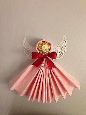 Origami Deko details zu ferrero rocher engel weihnachten mitgebsel kommunion