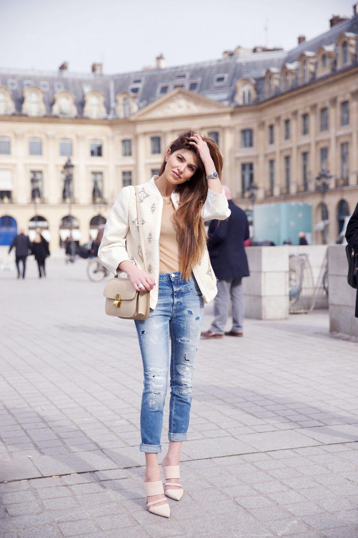justthedesign: Negin Mirsalehi is wearing a... Fashion Tumblr   Street Wear,
