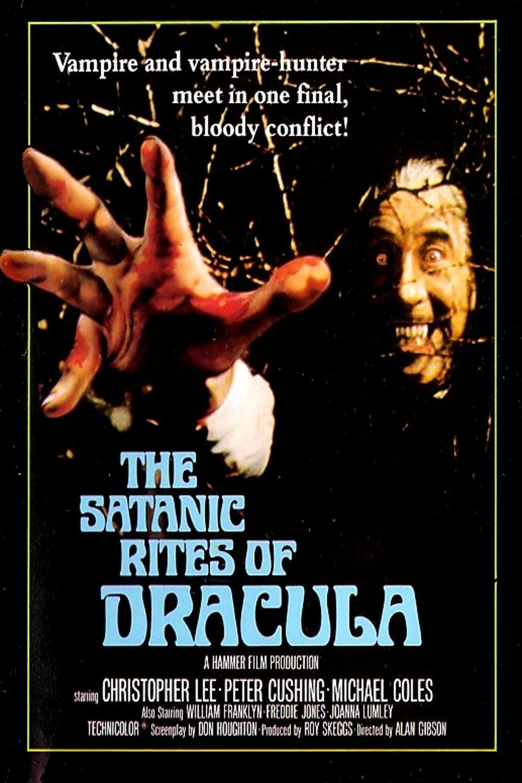 The Satanic rites of Dracula  vintage movie poster