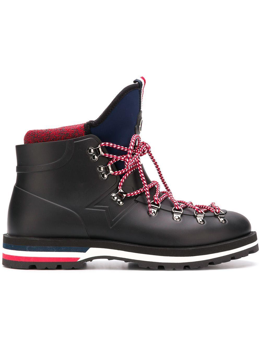 MONCLER MONCLER HENOC BOOTS - BLACK.  moncler  shoes   Boot ... 50a7b762ffe