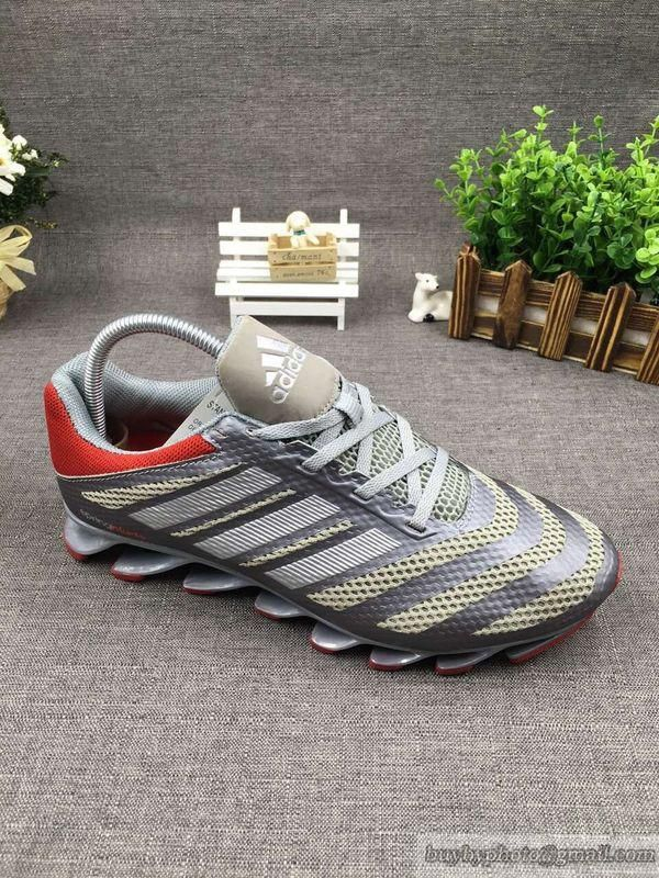 factory price 29db3 10410 ... discount mens adidas springblade v 5.5 ignite running shoes gray red cheapshoes  sneakers runningshoes popular nikeshoes