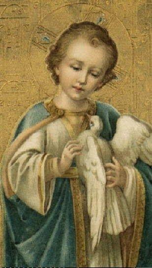 Divino ni o jes s hijo de dios y de la virgen mar a sanctification amour du seigneur - Divinos pucheros maria jose ...