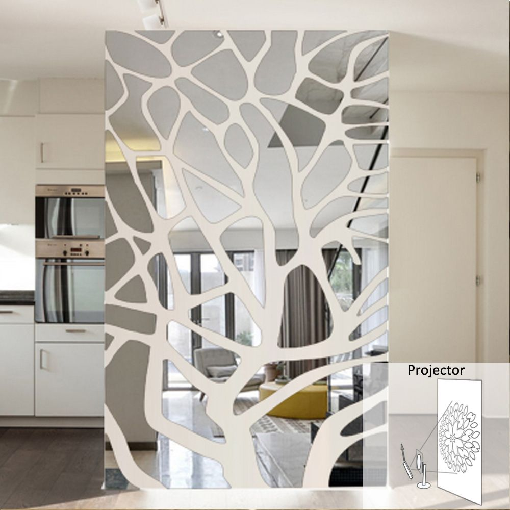 3d Luxury Tv Background Wall Sticker Bedrooms Decoration Acrylic